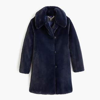 J.Crew Faux-fur coat