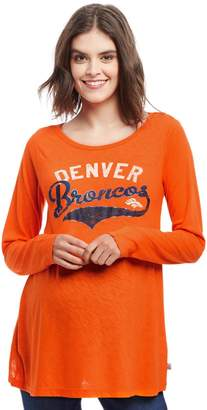 Motherhood Maternity Denver Broncos NFL Long Sleeve Maternity Graphic Tee defd59772