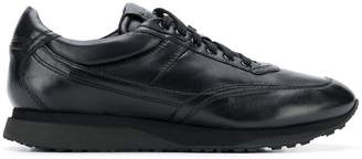 Santoni low top laced sneakers