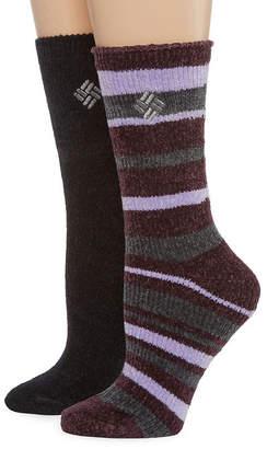 Columbia 2 Pair Crew Socks - Womens