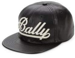 Bally Nappa Leather Baseball Cap