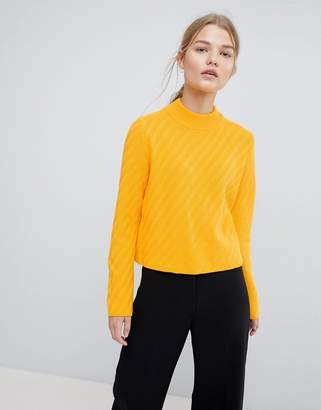 Selected Knitted High Neck Sweater