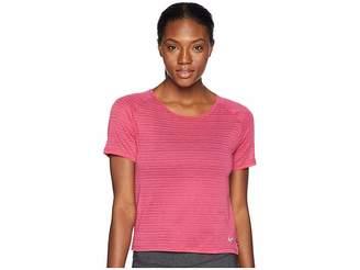 Nike Miler Breathe Short Sleeve Top Women's Short Sleeve Pullover