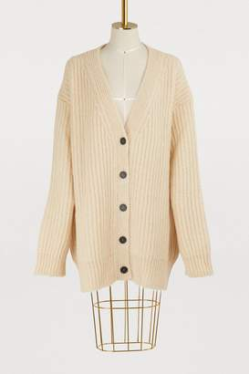 Calvin Klein Oversized mohair and wool cardigan
