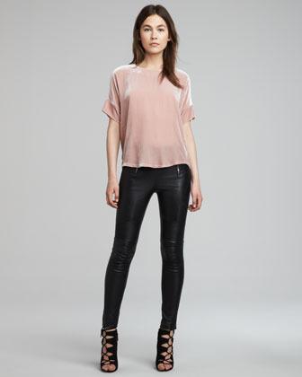 J Brand Ready to Wear Emmi Skinny Leather Pants
