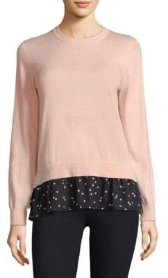 Kate Spade Mixed Media Sweater
