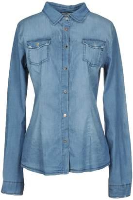 Peacock Blue Denim shirts - Item 42683443XT