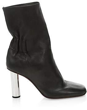 Proenza Schouler Women's Mirror Heel Leather Mid-Calf Boots