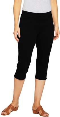 Denim & Co. Pull-On 5-Pocket Twill Capri Pants