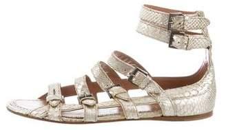 Alaia Python Multistrap Sandals