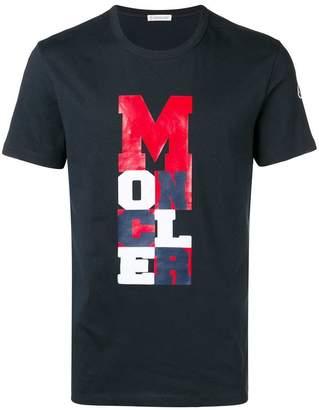 Moncler lettering graphic print T-shirt