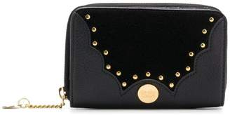 See by Chloe micro studded wallet