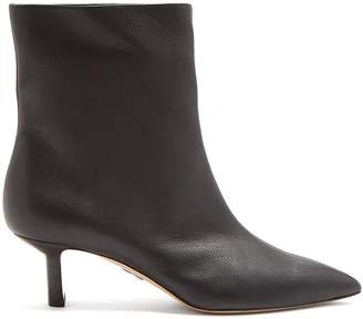 Paul Andrew Mangold grained-leather ankle boots
