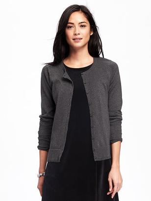 Classic Crew-Neck Cardi for Women $26.94 thestylecure.com