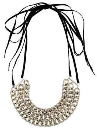 Dries Van Noten Curb Chain Collar Necklace