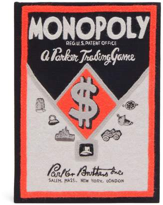 Olympia Le-Tan Monopoly Parker Trading game box clutch