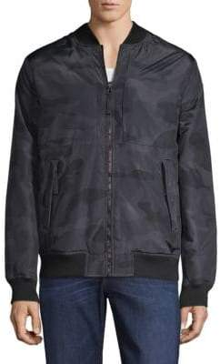 Saks Fifth Avenue Reversible Puffer Bomber Jacket