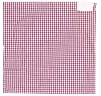Brunello Cucinelli Woven Gingham Pocket Square w/ Tags
