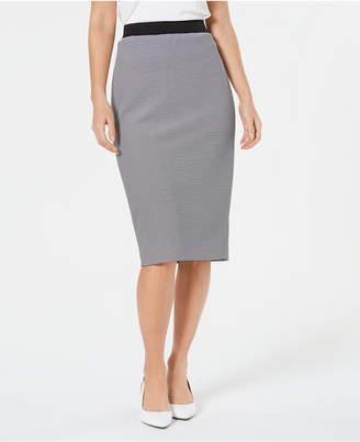 Alfani Ottoman Striped Midi Skirt, Created for Macy's