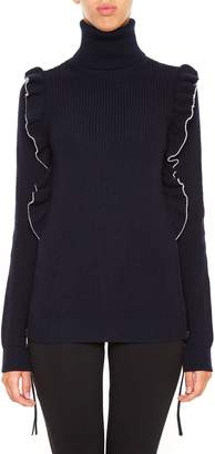 N°21 Ruffled Pullover
