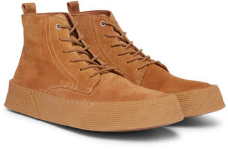 Ami Suede Chukka Boots - Men - Brown