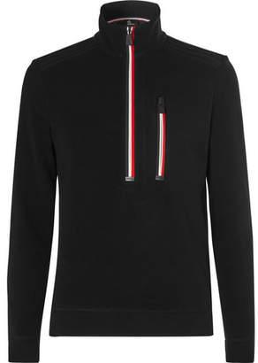 Moncler Stretch-Fleece Half-Zip Base Layer