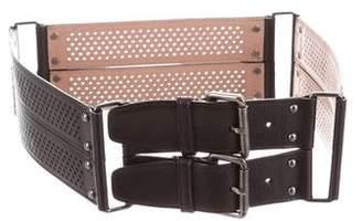 Alaia Perforated Waist Belt