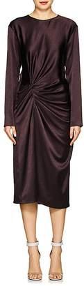 Helmut Lang Women's Washed Satin Midi-Dress