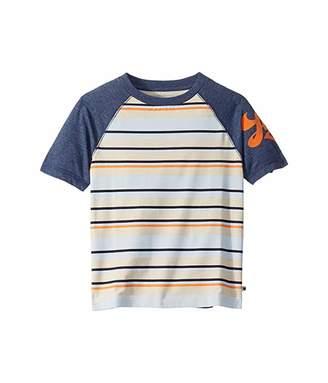 Lucky Brand Kids Grant Short Sleeve Striped Tee Shirt (Little Kids/Big Kids)