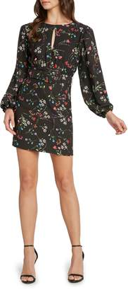 Willow & Clay Floral Belted Minidress