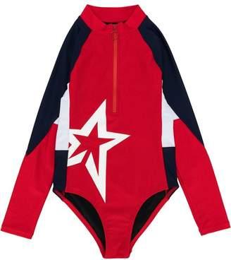 Perfect Moment Kids star print float suit