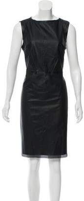 T Tahari Neala Perforated Dress w/ Tags