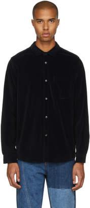 A.P.C. Black Velvet John Shirt
