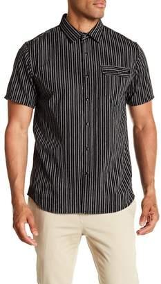 Howe Flashback Striped Short Sleeve Regular Fit Shirt