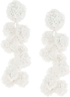 Sachin + Babi beaded flower earrings