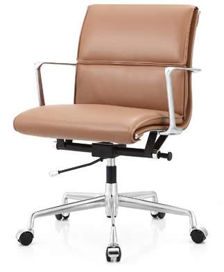 Meelano Italian Leather Office Chair