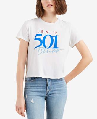 Levi's Cotton Retro Logo T-Shirt