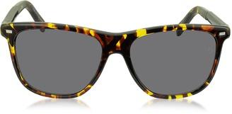 Ermenegildo Zegna EZ0009 54A Yellow and Brown Acetate Men's Sunglasses
