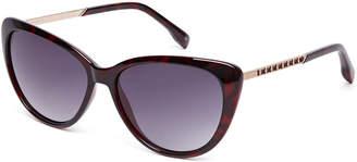 Karen Millen Oversized Cat Eye Sunglasses