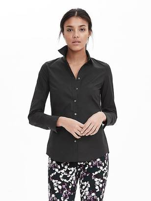 Riley-Fit Tailored Poplin Shirt $68 thestylecure.com