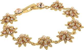 Marchesa stone/Blush/Silk Crystal Star Bracelet