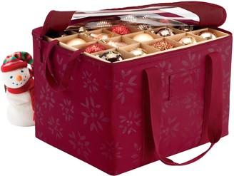 Classic Accessories Seasons Christmas Ornament Organizer Storage Bin