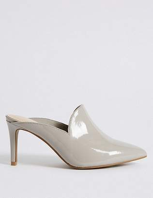 Marks and Spencer Extra Wide Fit Stiletto Heel Mule Shoes