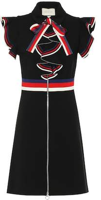 Gucci Sylvie web stretch-jersey dress