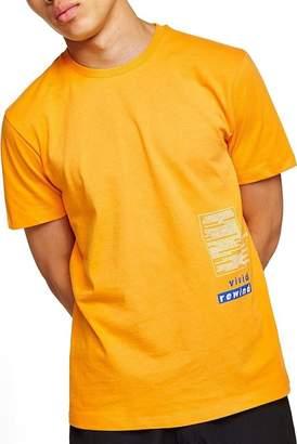Topman Short Sleeve Oversized Fit Refresh T-Shirt