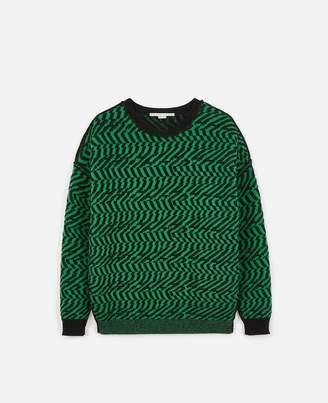 Stella McCartney Patterned Knit Sweater, Women's