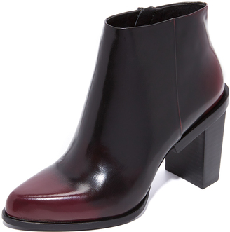 DKNY Pine Pointy Ankle Booties $348 thestylecure.com