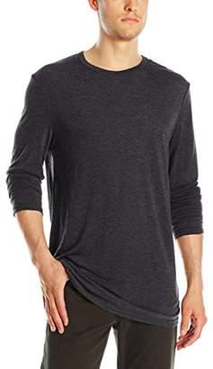 Michael Stars Men's Long Sleeve Bamboo Jersey Crew-Neck T-Shirt