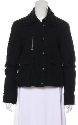 Nili Lotan Wool Zip-Up Jacket