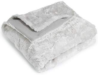 Marks and Spencer Textured Faux Fur Throw Large